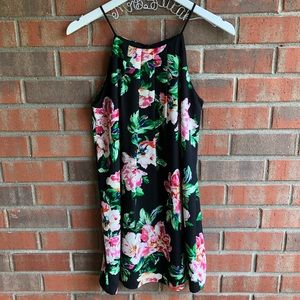 Monteau LA Floral Print Dress Size Small